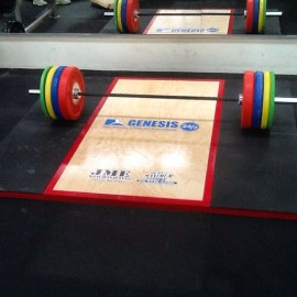 JME - Platform - Weights - Bar - Pack