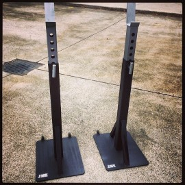 JME - V4 Heavy Duty Commerial Squat Stands
