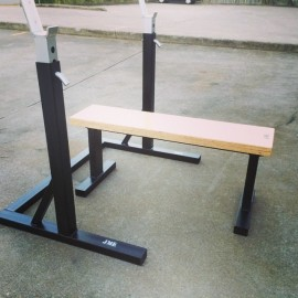 JME - V5 Squat Stand - Old School Bench Combo
