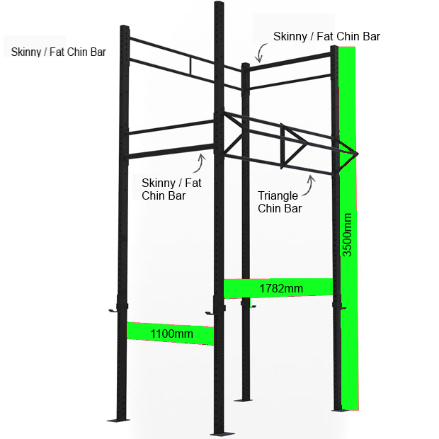 Jme Tall Stand Alone Rig Jme Weightlifting Amp Fitness
