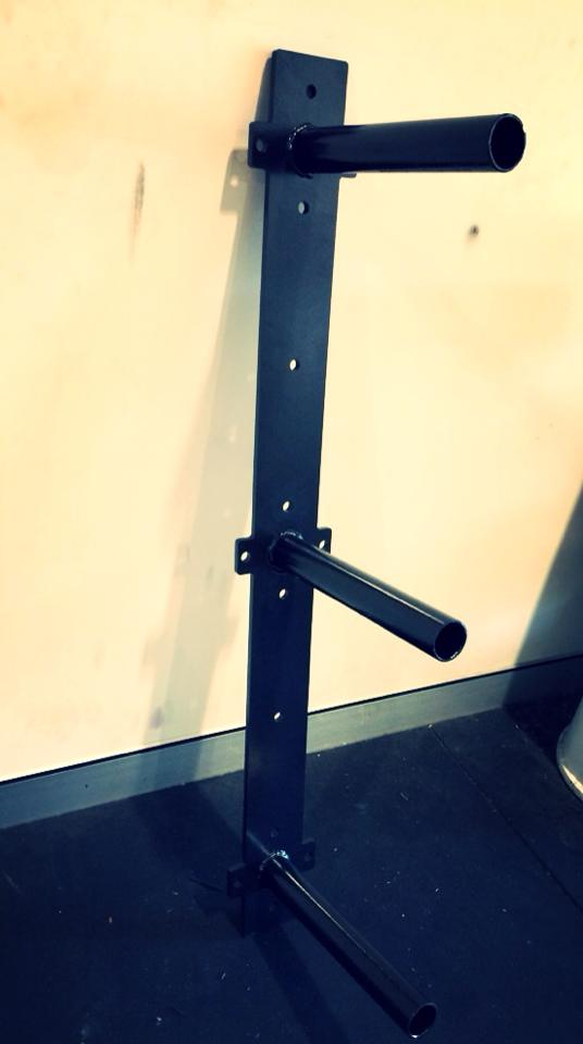 JME- Wall Mounted Weight Rack - JME Weightlifting & Fitness Equipment